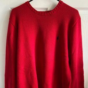 Men's Polo Sweater 100% Cotton